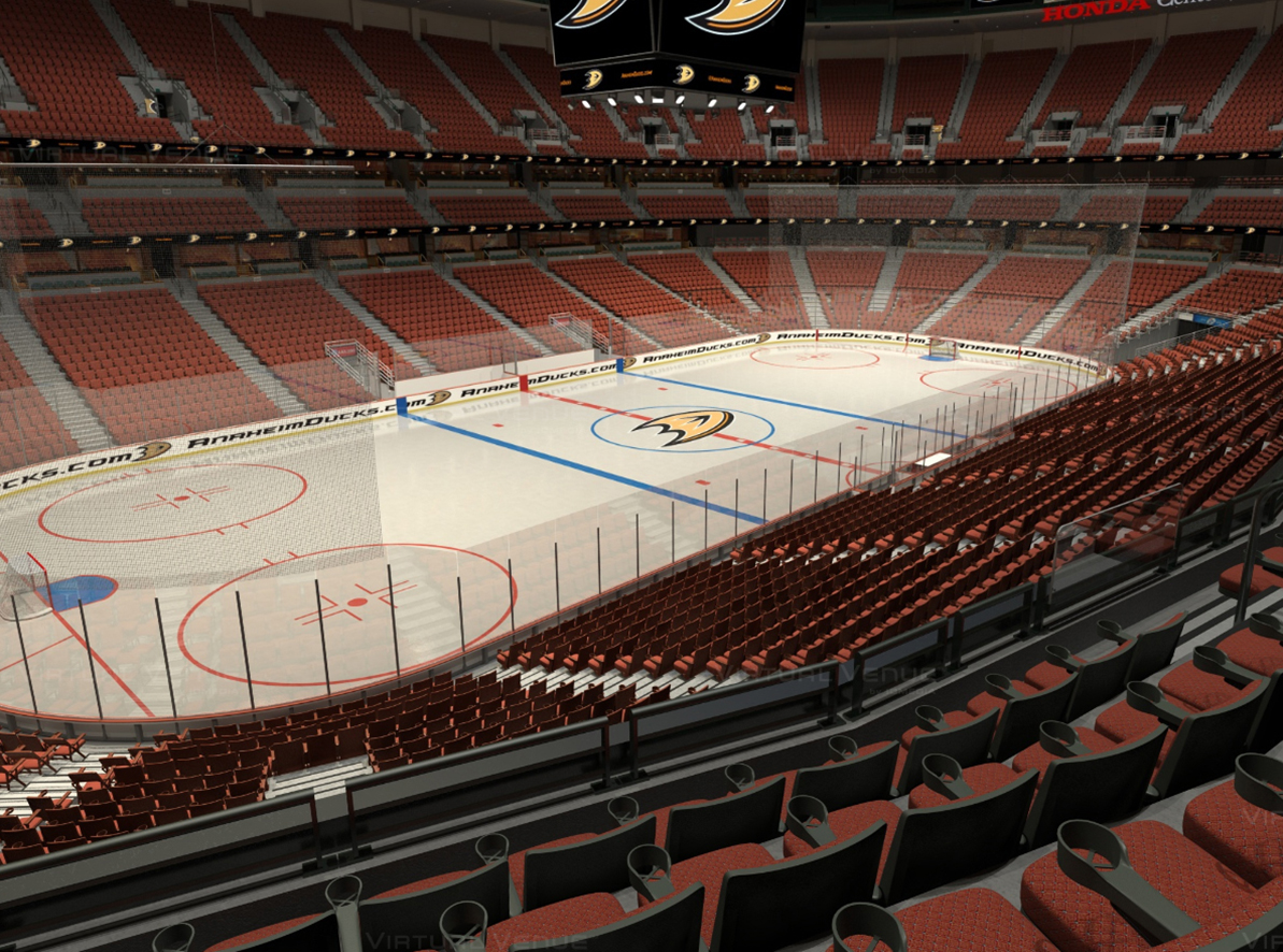 Get A View From Every Seat For Anaheim Ducks
