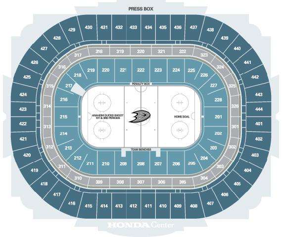 Seating Maps Honda Center Rh Hondacenter Com Honda Center Concert Seating  Honda Center Concert Seating